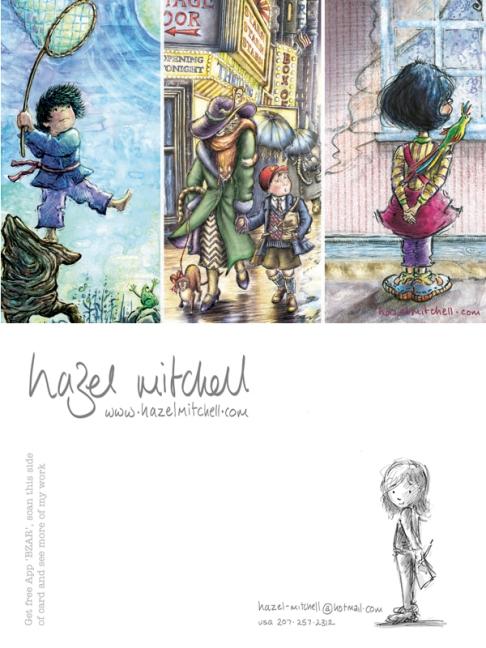 Hazel Mitchell Postcard 1