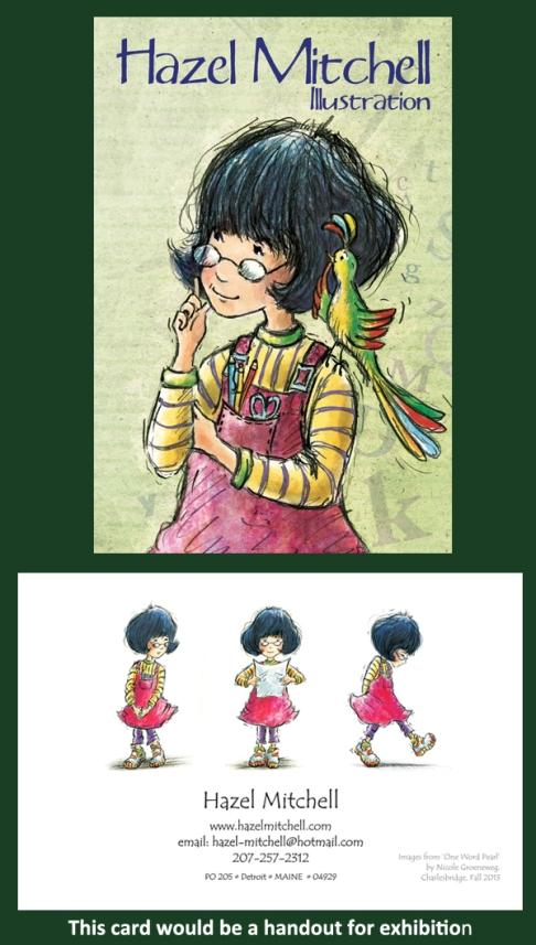 Hazel Mitchell Postcard 3