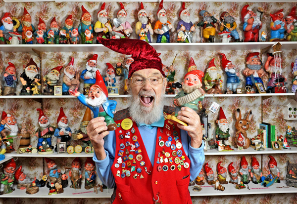 Ron the Gnome! Crazy Collector