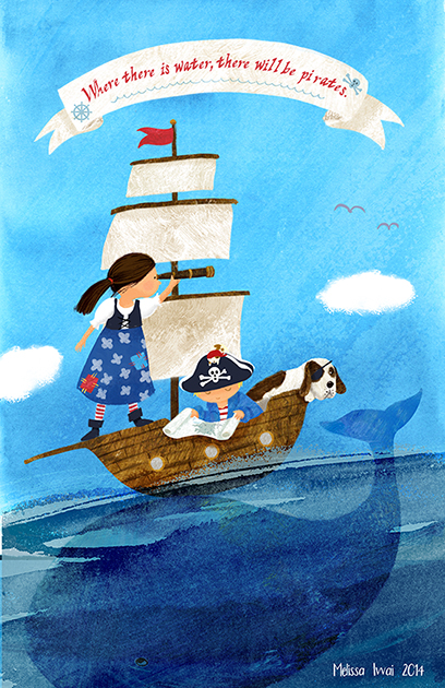 pirates Melissa Iwai _Dana