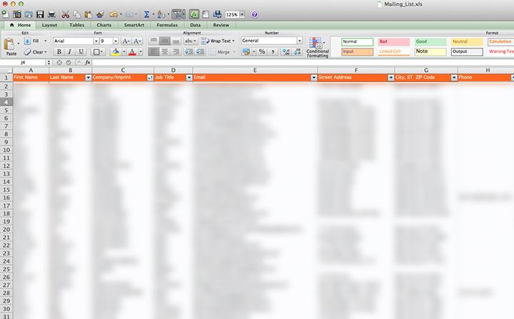 mailing_list_screen shot