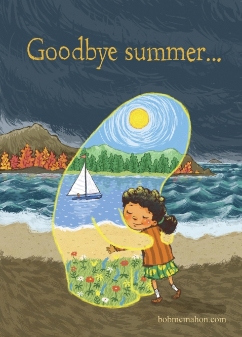 McMahon-Goodbye Summer Postcard 5X7 Front