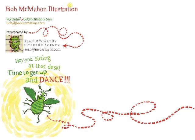McMahon- June bug postcard 5X7 BACK