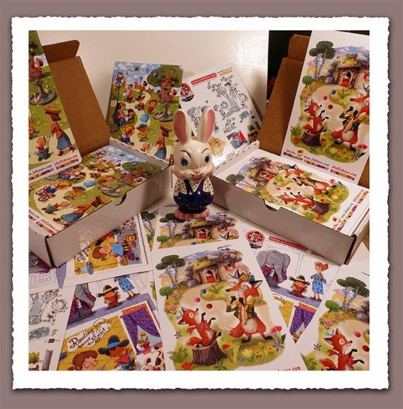 1 Postcard Bunny