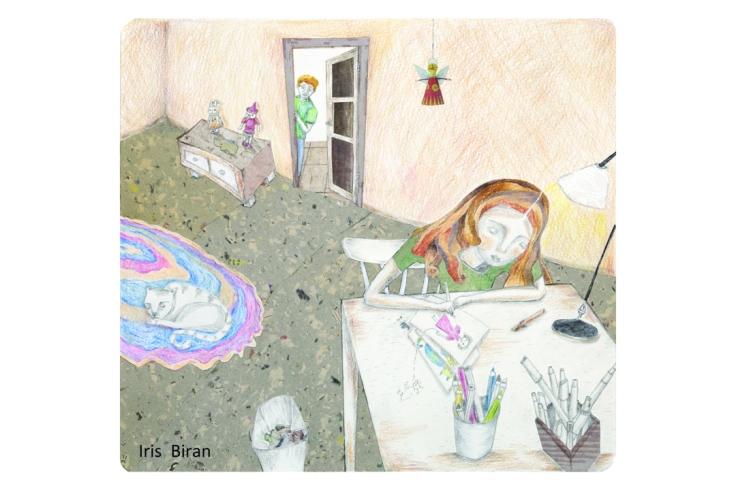 Iris_Biran-Postcard_3_Front