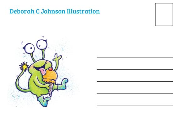 Deb Johnson - Monster IC Back