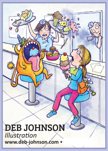 Deb Johnson Monster IC Front