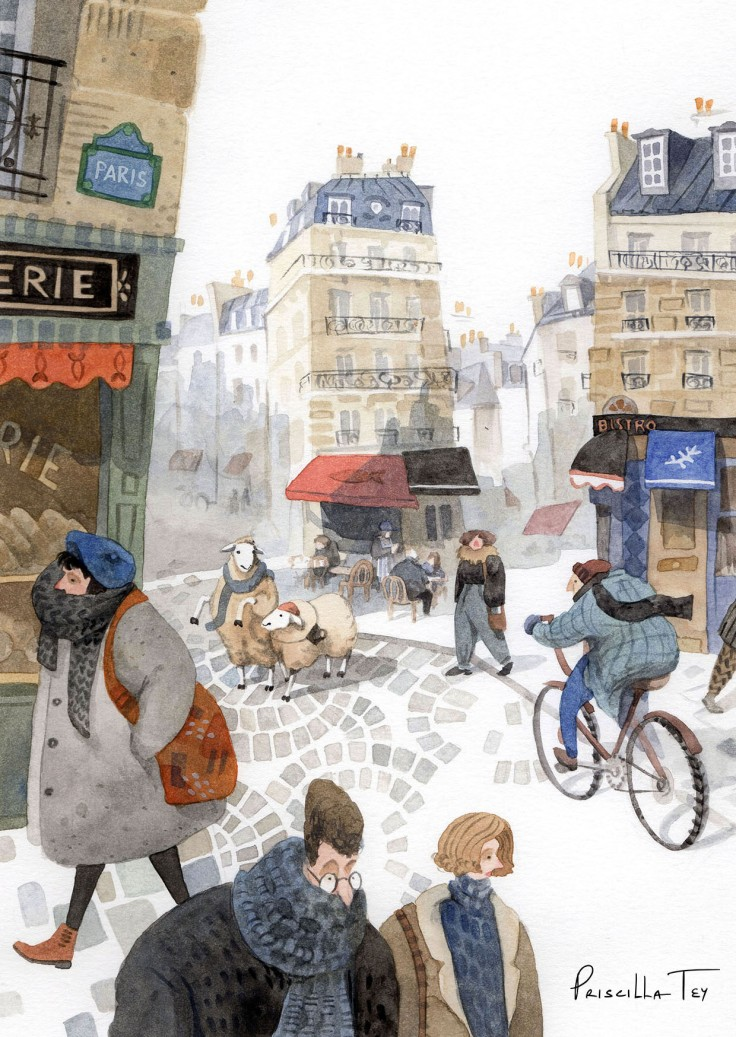 2018 Lost Sheep in Paris Postcard_Front