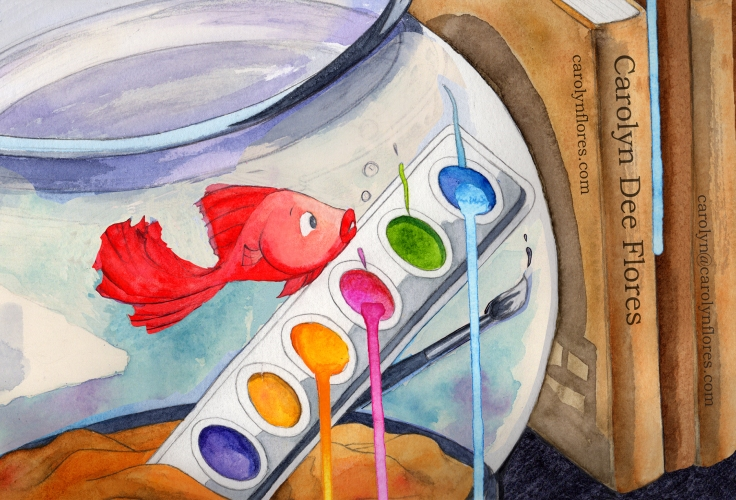 WatercolorFish_Ashley20170926dFlat300_OvernightPostcard_4x6_SingleSide_wBorder